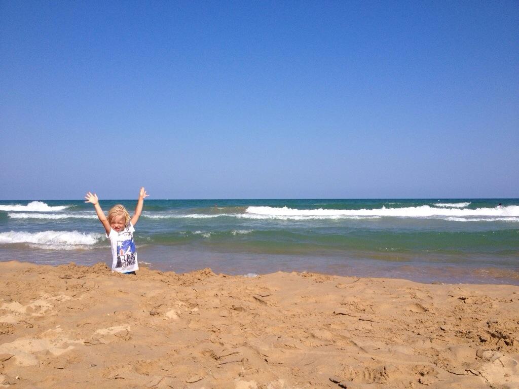 Spanien sommaren 2014